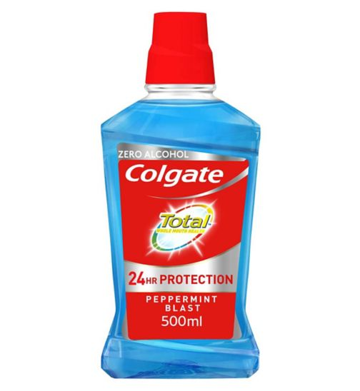 Colgate Mouthrinse Total Blue 500ml