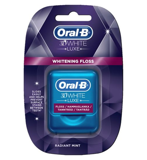 Oral-B 3DWhite Luxe Floss 35m - Radiant Mint
