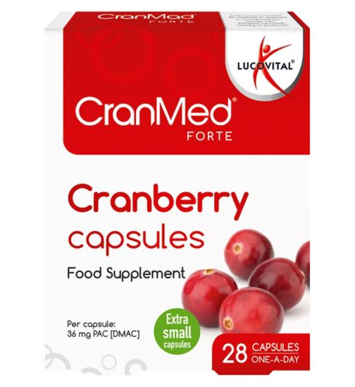 Cranmed Forte Prevention 28 Capsules - One a day formula