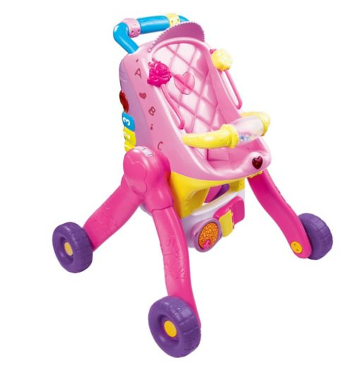 VTech Grow With Me Little Love 3 in 1 Pushchair