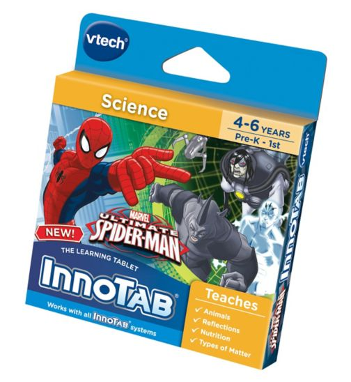 Vtech InnoTab Ultimate Spiderman Software