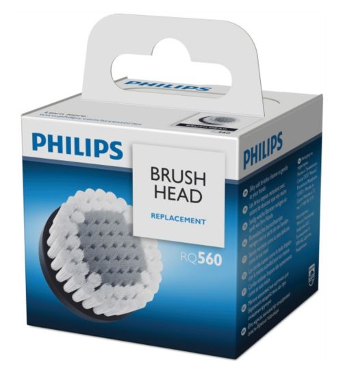 Philips Replacement oil-control Cleansing Brush  RQ560/50 for SmartClick attachment
