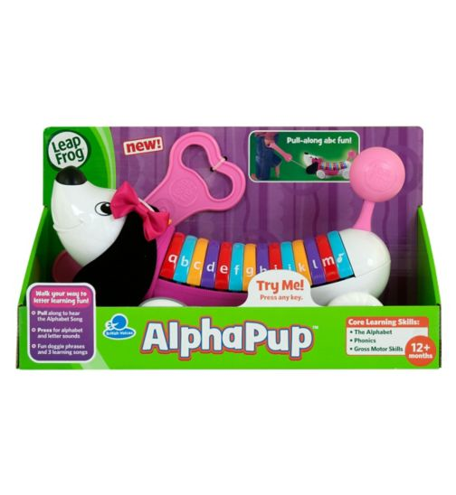 LeapFrog AlphaPup Educattoy Pink