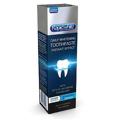 Rapid White Instant Whitening Toothpaste 75ml