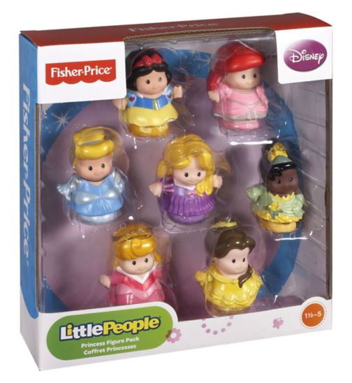 Fisher-Price Little People Disney Princess Figure Pack