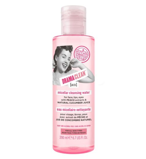 Soap & Glory DRAMA CLEAN™ 5-in-1 Micellar Cleansing Water 200ml