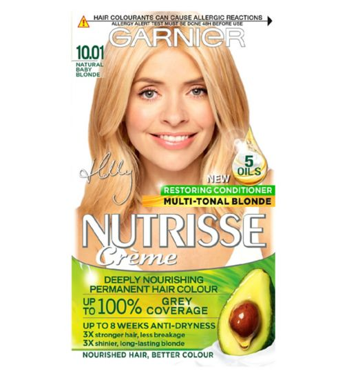 Garnier Nutrisse Crème Permanent Hair Colour 10.01 Natural Baby Blonde
