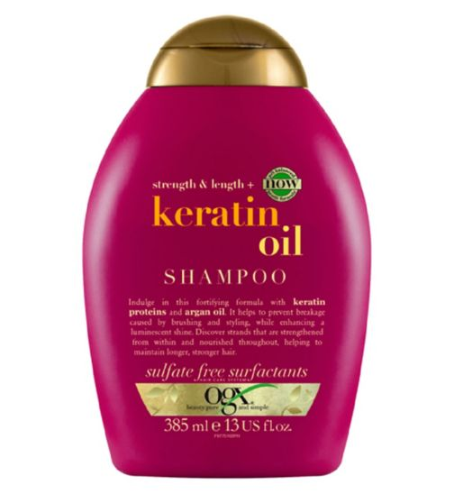 OGX Anti-Breakage Keratin Oil Shampoo 385ml