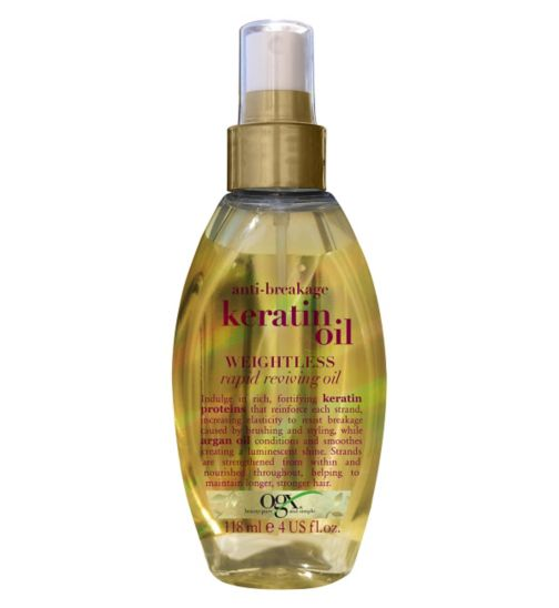 OGX Anti-Breakage Keratin Oil Instant Repair Weightless Healing Oil