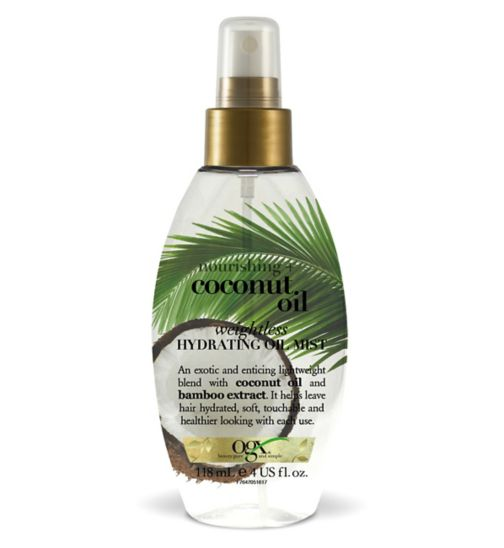 Ogx Coconut Oil Weightless Hydrating Oil Mist 118ml