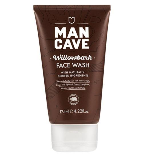 ManCave WillowBark Face Wash 125ml