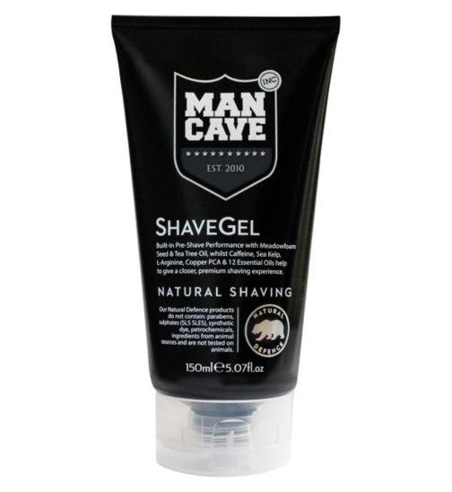 ManCave Caffeine Shave Gel 150ml