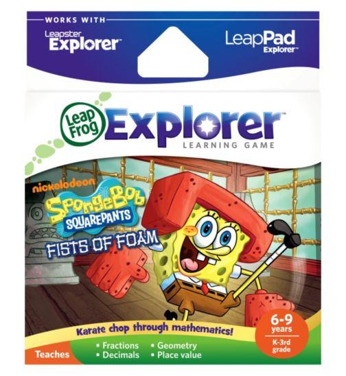 LeapFrog Explorer Learning Game: Spongebob Fists of Foam
