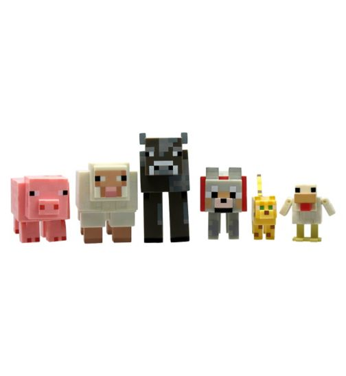 Minecraft Articulated Animal Mobs 6 Pack