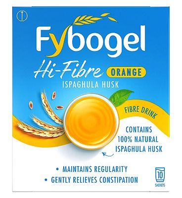 Fybogel Hi-Fibre Orange - 10 Sachets