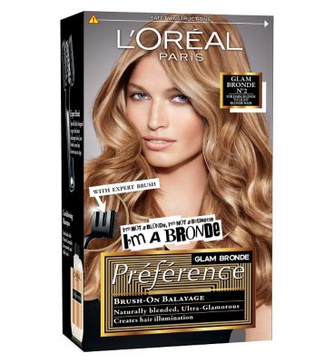 Tutorial And Review L Oreal Paris Preference Glam Bronde
