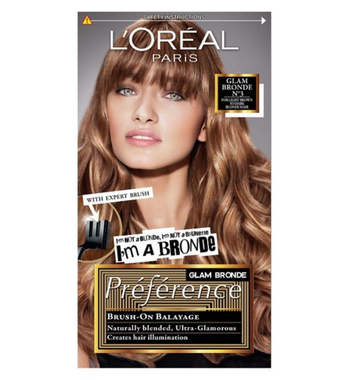 Preference Glam Bronde 03 Brown Permanent Hair Dye