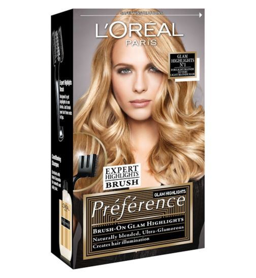 L'Oreal Preference Glam Highlights N°1