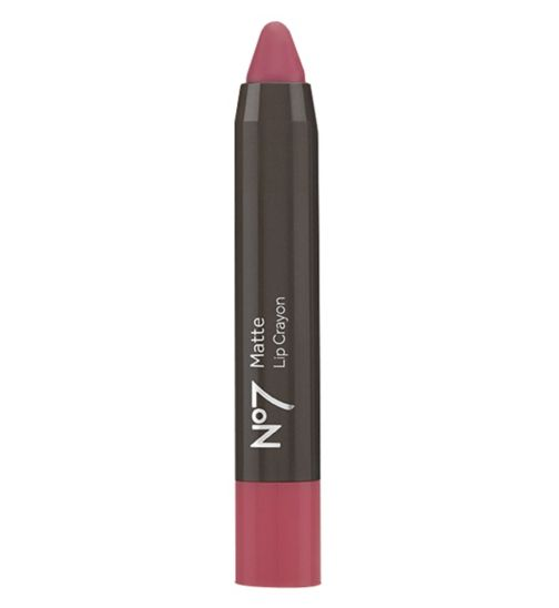 No7 Matte Lip Crayon