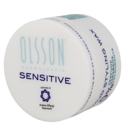 Olsson Scandinavia Sensitive mud styling wax 75ml