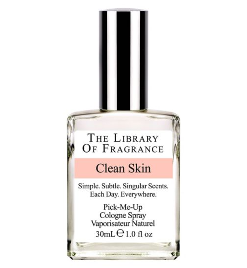 Library of Fragrance Clean Skin Eau de Toilette 30ml