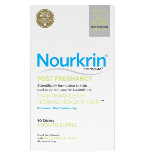 Nourkrin Post Pregnancy Hair Maintenance