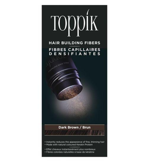 Toppik Hair Building Fibres Dark Brown 12g
