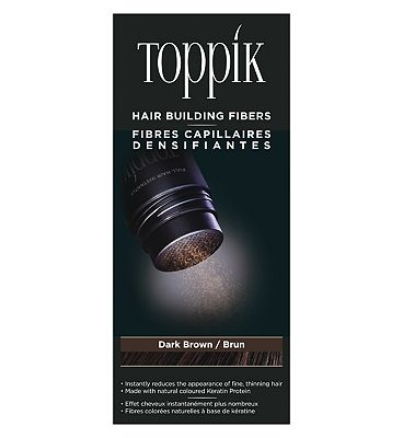 Toppik Hair Building Fibres Dark Brown 12g