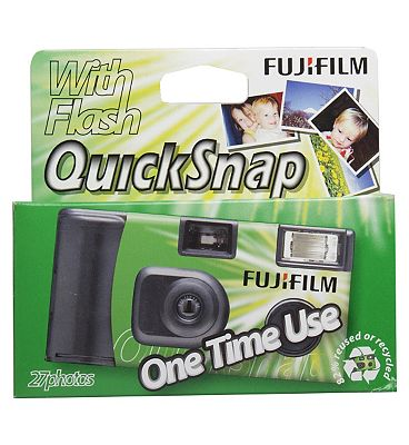 Fujifilm Quick Snap Single Use Camera With Flash