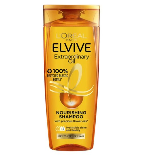 L'Oreal Elvive Extraordinary Oils Nourishing Shampoo Dry to Rough Hair 400ml