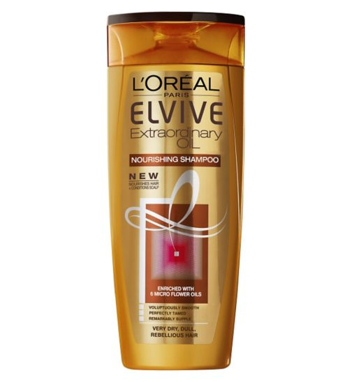 L'Oreal Elvive Extraordinary Oils Nourishing Shampoo Very Dry Hair 400ml