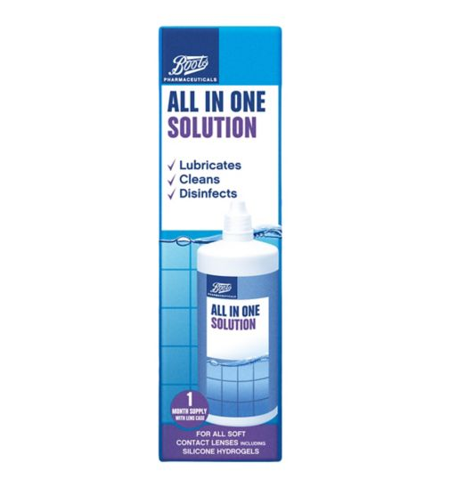 Boots All In One Solution - 240ml