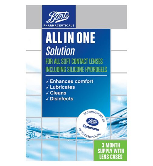 Boots All In One Solution -  2 x 360ml
