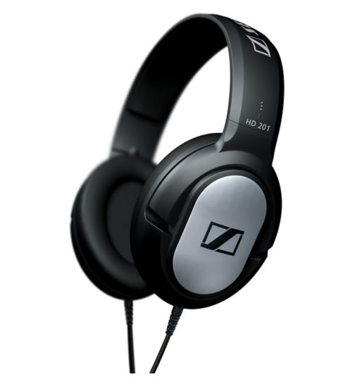 Sennheiser HD201 Over Ear Headphones- Black