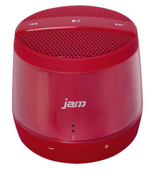 Jam Touch Bluetooth Wireless Speaker- Red