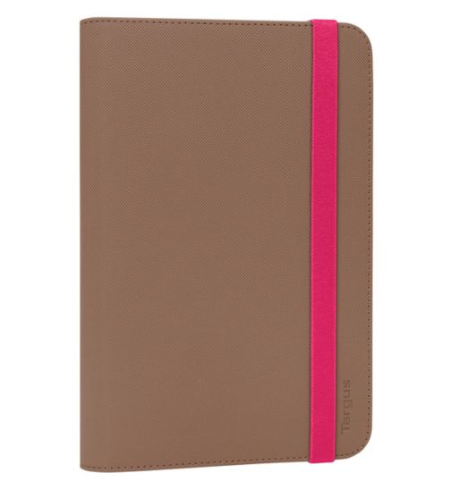 Targus Universal Tablet Folio Case 7-8inch- Taupe