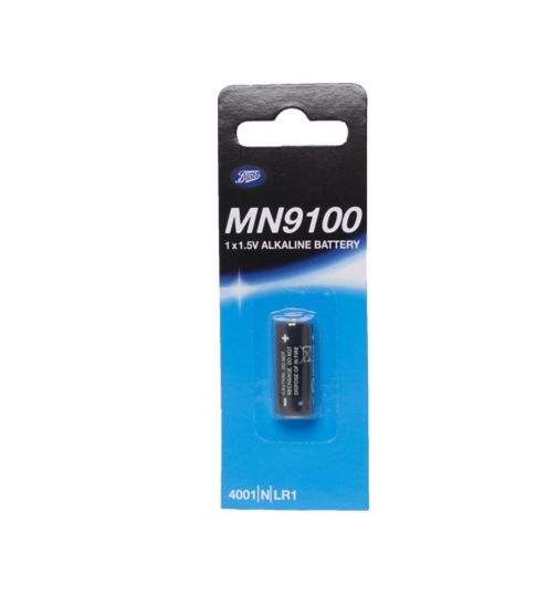 Boots MN9100 1.5V Alkaline Battery x1