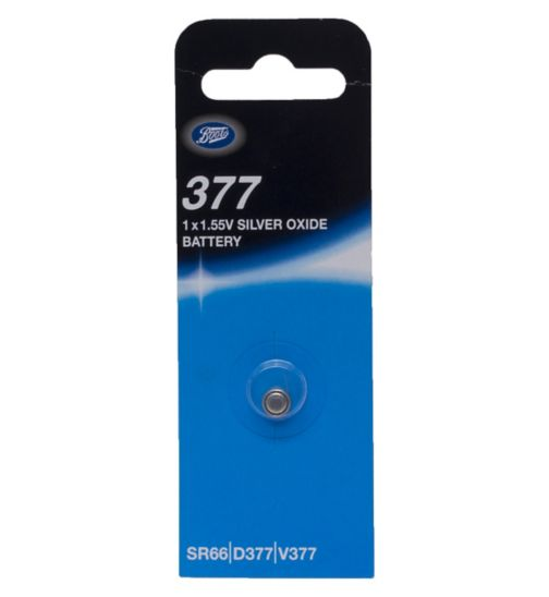 Boots 377 1.55V Silver Oxide Battery x1