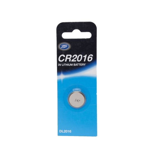 Boots CR2016 3V Lithium Battery x1