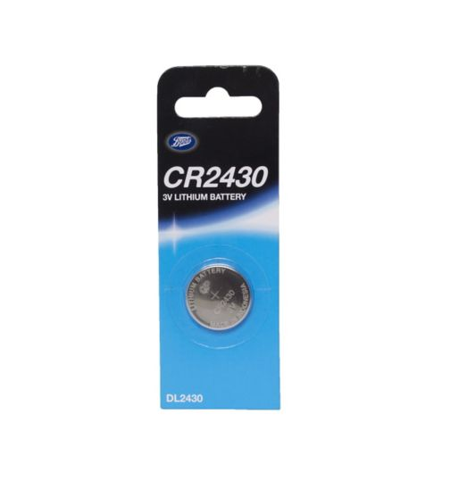 Boots CR2430 3V Lithium Battery x1