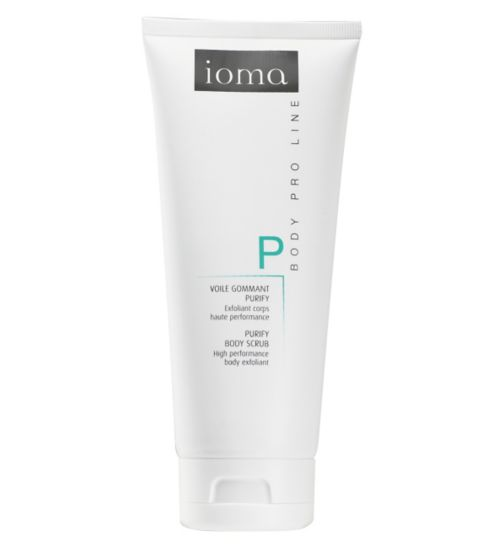 IOMA Purify Body Scrub 150ml - High performance body exfoliant