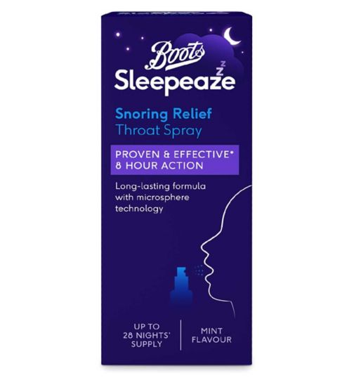 Boots Sleepeaze Snoring Throat Spray - 14 ml