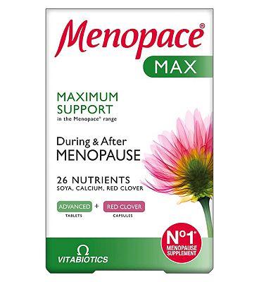 Vitabiotics Menopace Max Calcium - 28 Day Supply