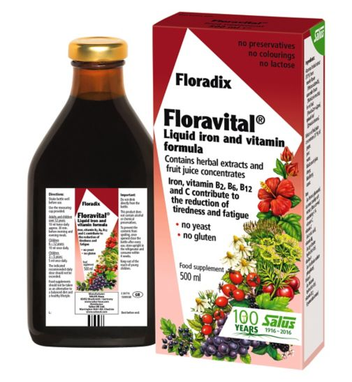 Floravital Liquid Iron Formula - 500 ml