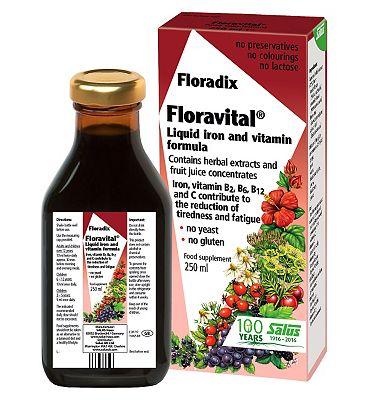 Floravital Liquid Iron Formula - 250 ml