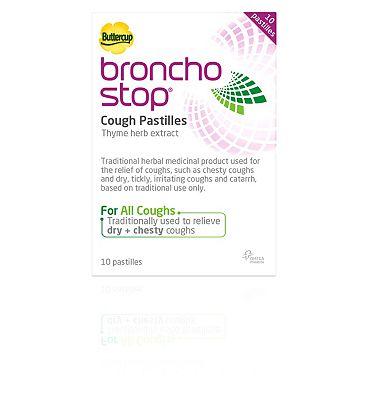 BronchoStop Cough Pastilles - 10 Pastilles