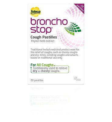 BronchoStop Cough Pastilles - 20 Pastilles