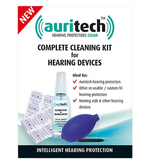Auritech Complete Cleaning Kit for Hearing Devices
