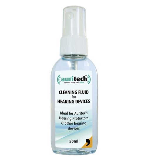 Auritech Cleaning Fluid for Hearing Devices - 50ml