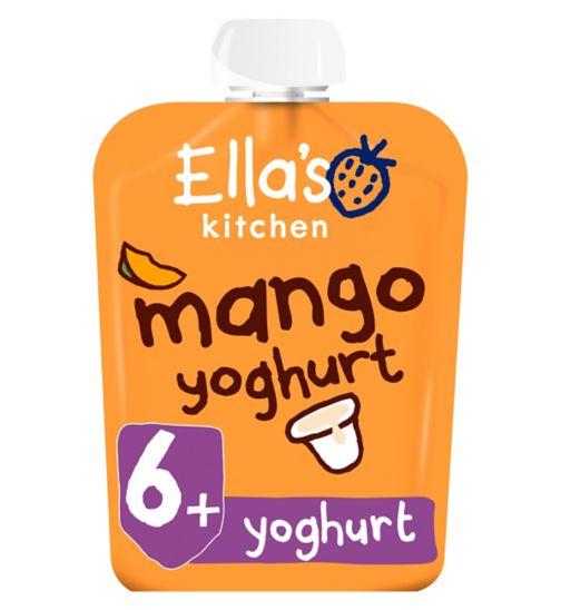 Ella's Kitchen Mango Yummy Yoghurt Greek Style from 6+ Months 90g